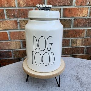 Rae Dunn Dog Food Canister